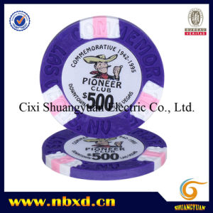 9.5g 3-Tone Clay Poker Chips pictures & photos