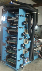 Flexo Printing Machine with 5UV or IR and Slitting Station or Sheeting pictures & photos