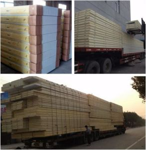 Wholesale Polyurethane Insulation Aluminum PU Manufacturer Insulated Sandwich Cold Room Panels pictures & photos