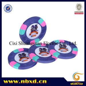 9.5g 3-Tone M Sticker Chip (SY-C07) pictures & photos