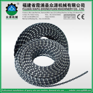 11.0mm Diamond Wire Saw for Marble Limestone Quarry Stone Cutting