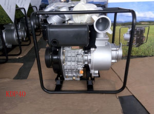 4 Inch Single Stage Centrifugal Recoil Start Diesel Water Pump for Irrigation Use pictures & photos