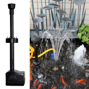 Submersible Fountain Pump Built-in Low Water Sensor pictures & photos
