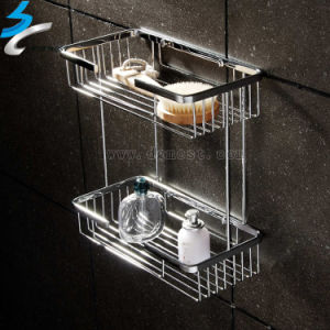 China stainless steel bathroom shower towel rack in for Bathroom accessories hs code