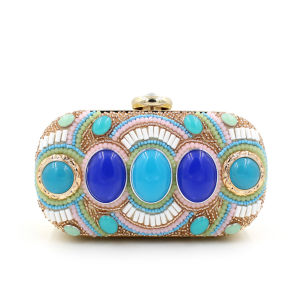 Wholesale High Quality Ethnic Style Party Handbag Women Clutch Bag pictures & photos