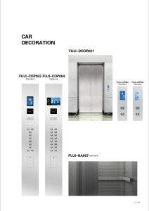 Residential Passenger Elevator with Titanium Gold Decoration pictures & photos