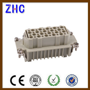 Factory Price HD 40 Pin 64 Pin Male and Female Industrial Electrical Heavy Duty Cable Connector pictures & photos