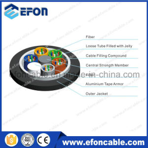 GYTA Sm 24 48 72 96 Aluminium Tape Armored Outdoor Fiber Optic Cable pictures & photos