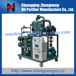 Zhongneng 1 Micron Transformer Oil Filtration Machine pictures & photos