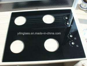 Black Ceramic Tempered Cooktop Glass pictures & photos