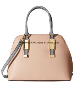 Fashion Lady PU Tote Bags, Double Handle Handbags pictures & photos