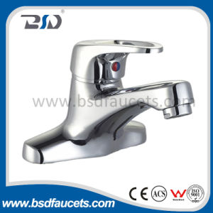 Deck Mounted Brass Basin Mixer with Chrome Surface pictures & photos