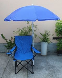 Folding Beach Chair with Beach Umbrella (MW11033) pictures & photos
