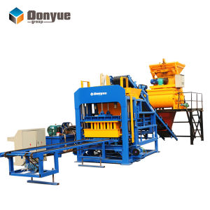 Automatic Solid and Paver Block Machine Qt4-15 Dongyue Machinery Group pictures & photos
