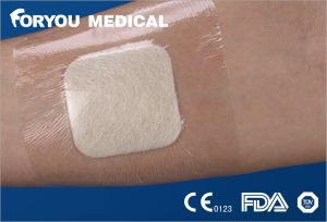 Adhesive Alginate Ulcer Dressing High Exuding Wound Cover/Sheet pictures & photos