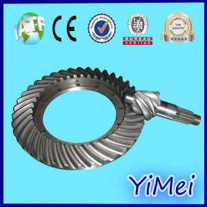 Crown Wheel and Pinion Gear Use in Car Rear Axle pictures & photos