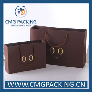 Kraft Luxury Paper Bag with Golden Foil Stamping (CMG-MAY-015) pictures & photos