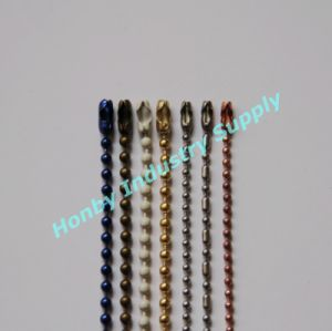 Honby Decorative Metal Bead Ball Chains pictures & photos