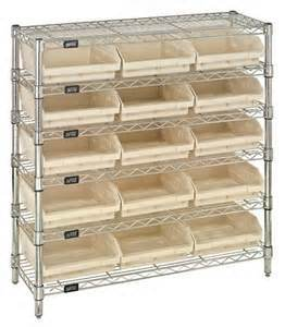 NSF 6 Tiers Chrome Metal Bin Rack for Hospital pictures & photos