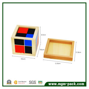 Hot Sale Custom Kids Binomial Wooden Toy pictures & photos