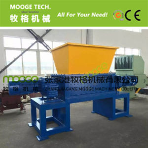 Waste plastic paper double Shaft Shredder Machine pictures & photos