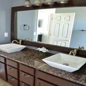 Bathroom Vanity Baltic Brown Granite Countertop