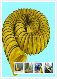 PVC Coated Reinforced Flexible Air Duct pictures & photos
