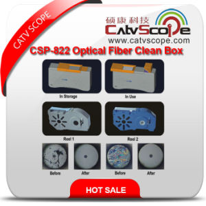 Csp-822 Optical Fiber Clean Box pictures & photos