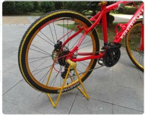 Simple Powder Coated Bike Rack pictures & photos
