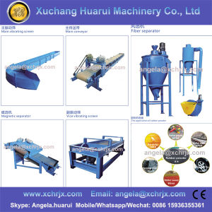 Used Tires Processing Equipment / Tire Recycling Equipment Prices / Waste Tire Recycling Rubber Powder Machine pictures & photos