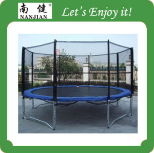 Cheap Big Indoor Trampoline with Encosures 6FT-16FT pictures & photos