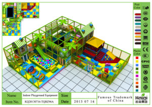 Kaiqi Medium Sized Indoor Soft Play Playground Set - Available in Many Colours (KQ20130716-TQBZ96A) pictures & photos