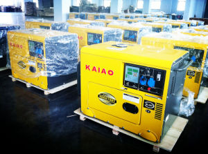 5kw Silent Type Diesel Generator, Portable Type pictures & photos