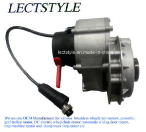 500W 115V-110V AC Motor with Planetary Reducer Floor Sweeper Machine pictures & photos