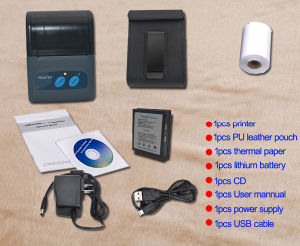 Portable Mobile Bluetooth Printer Support Android /iPhone /iPad pictures & photos