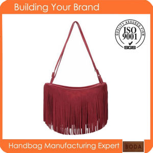 Hot Selling Red Fashion Lady Sling Bags pictures & photos