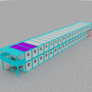 Prefabricated House Sandwich Panel Container Office pictures & photos