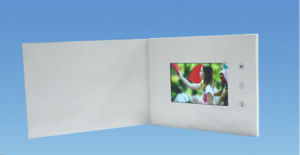 Custom Design 5.0inch LCD Screen Video Brochure pictures & photos