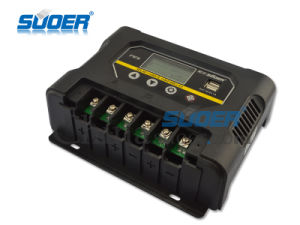 Suoer 48V 60A Auto Manual PWM Solar Panel Charge Controller (ST-W4860) pictures & photos