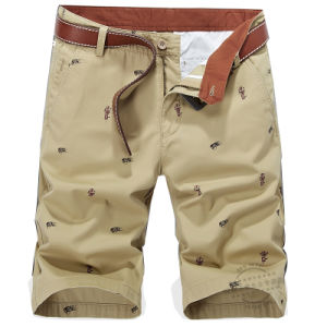 2017 Outwear Men′s Summer Bermuda Cargo Cotton Shorts pictures & photos