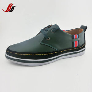 New Design High Quality Men′s Casula Shoes Leather Shoes (LZ11) pictures & photos