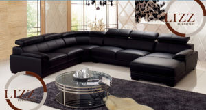Modern Living Room Leather Sofa in Sofa Popular Furniture L. P2178 pictures & photos
