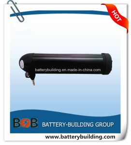 Hot Sell 48V 10ah Lithium Bottle Type E-Bike Battery Pack with Black Color and 2 Years Warranty pictures & photos