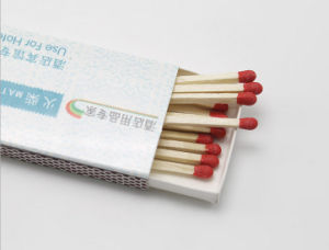 Advertisement Giftmatch / Disposable Wooden Match pictures & photos