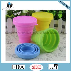 Silicone Cup Silicone Mug Collapsible Coffee Cup for Travel 200ml pictures & photos