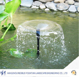 Elevation Traction Spray Fountain Nozzle in Stainless Steel or Brass pictures & photos
