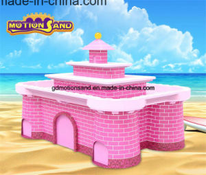 Castle Amusement Park Equipment-Kinetic Sand Display Table-Kids Playing Center Motion Sand