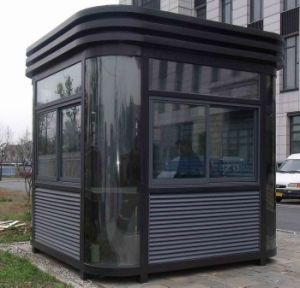 China Supplier CE Certification New Design Steel Structure Sentry Box pictures & photos
