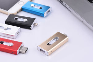 Free Sample Metal OTG USB Flash Drive for iPhone (TL) pictures & photos