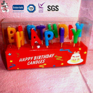 Manufacture Elegant Design Top Quality Competitive Price Happy Birthday Candle pictures & photos
